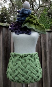 Cable Knit Skirt #2