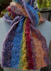 Cottage Garden Scarf #2