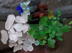 Sea Glass and Sand Dollars #8