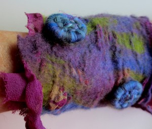 Nuno Felt With Embedded Object #4