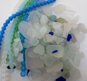 Sea Glass and Beads #3_1