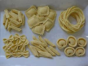 knitted pasta
