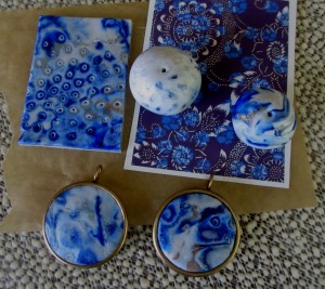 Blue Mokume Gane_1