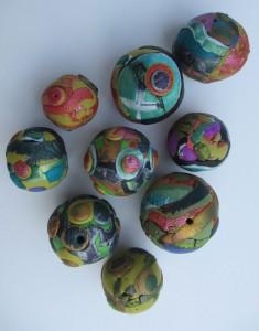 Acylics and Lumiere Beads