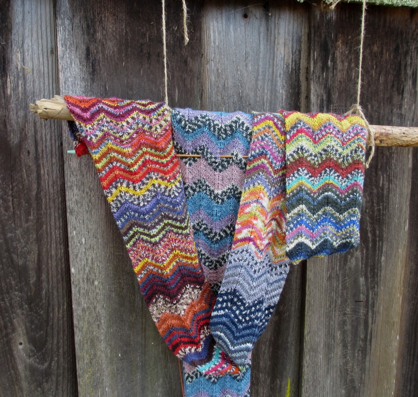 Chevron Zigzag Knitting_1