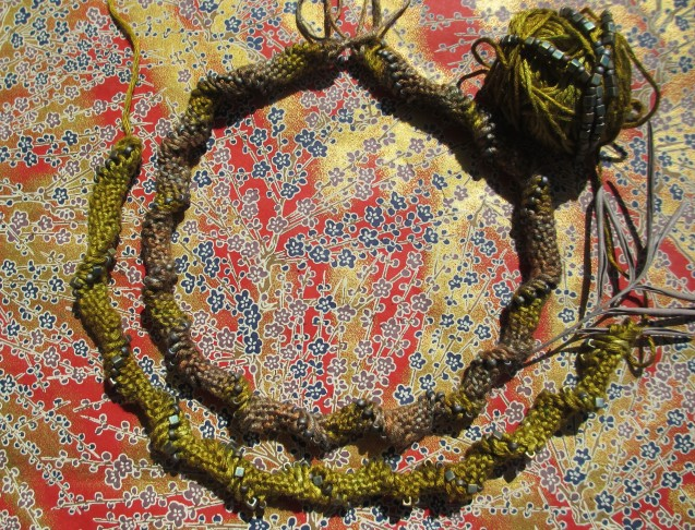 Knitting With Beads #3